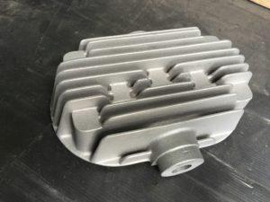 Zylinderkopf 2-Zylinder aus G-AlSi5Mg 1,3 kg