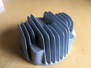 Zylinderkopf 1- Zylinder aus G-AlSi9 Cu3 0,5 kg